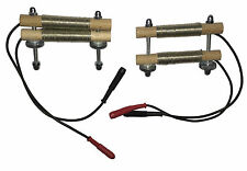 Reizstrom Klammer aus Holz und Kupfer  Reizstromelektrode Estim Mystim geeignet