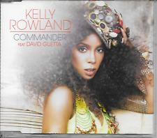 KELLY ROWLAND ft DAVID GUETTA - Commander CD SINGLE 2TR EU Release 2010