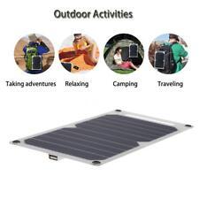 Solar-Ladegerät 10W ultra dünnen Silizium-Solar-Panel 5V USB reisen Reiten L4V7