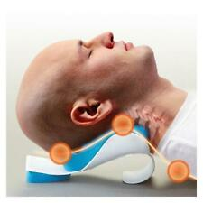Neck Head Shoulder Relaxer Pain Relief Support Cervical Stretch Traction Pillow