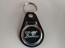FORD BRONCO Key Chain fob logo single pack BLK