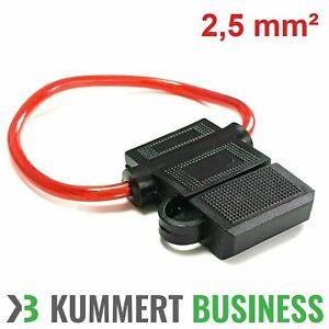 KFZ-Sicherungshalter ATC ATO IP56 WASSERDICHT 2,5mm² max. 40A Flachsicherung