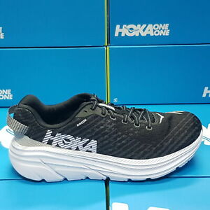Neuf Hoka One RINCON 1102874 / Bwht Noir/Blanc Chaussures Course Pour Homme