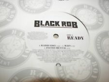 """Black Rob Ready / Star in the Hood Help Me Out 12"""" Single NM Bad Boy 2005 PROMO"""