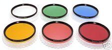 82mm. set 6 filtri colorati +UV Blackdove-cameras NUOVI