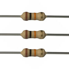 100 x 10k Ohm Carbon Film Resistors - 1/4 Watt - 5% - 10K - Fast USA Shipping