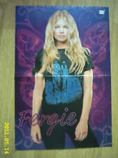 FERGIE, 30 SECONDS TO MARS - duble-sided poster
