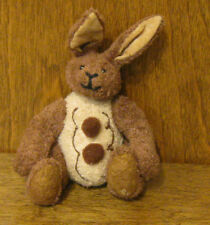 """Ganz Cottage #CC11215C CHOCOBUDS 5"""" cream/brown BUNNY, NEW from our Retail Store"""