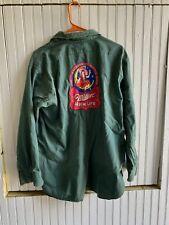 1950s Master Work Wear Union Made Miller High Life Shirt Sanforized Bowling