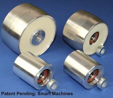 "Belt Grinder wheel set knife grinder 4"" Drive- 5/8"" shaft, 3"" tracking, 2"" Idler"