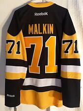 Reebok Premier Jersey  Pittsburgh Penguins Evgeni Malkin Black RETRO Alt sz 2X