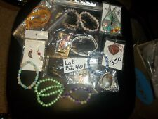 Huge Lot of assorted jewelry types great amount for the price Lot Bz401 <><