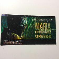 Star Wars Greedo rare spectra etched foil test card 1997
