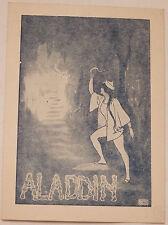 Aladdin, Will Parkin, circa 1930s, Advertising Card