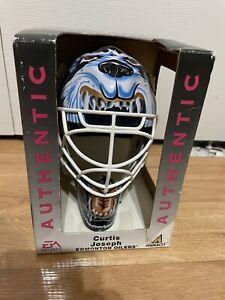 1997 Edmonton Oilers Curtis Joseph EA Sports Pinnacle Mini Goalie Mask Helmet