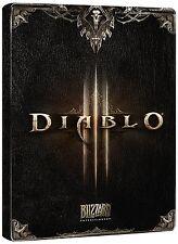 XBOX 360 Steelbook DIABLO III 3 format DVD