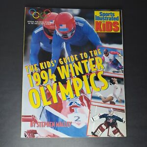 Nancy Kerrigan Kids Guide To The 1994 Winter Olympics SI Sports Illustrated