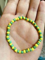 Stretch Elastic Pulsera de Orula Orunmila Orunla Santeria bracelet Ilde Ide Idde