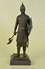Hand Made Armor knight medieval sculpture bronze sculpture work of Art Decor
