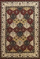 Floral Traditional Oriental Area Rug Hand-tufted Living Room Wool Carpet 9x12 ft