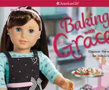 American Girl BAKING WITH GRACE Craft Kit with Doll-sized OVEN MITT ~ NIB