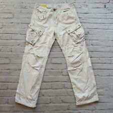 Gstar Raw Cargo Pants Jeans Size 32 White Straight