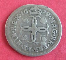 More details for 1679 charles ii silver fourpence