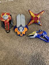 power rangers ninja steel morphers and blasters lot