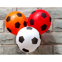 10pcs football printing balloon high quality round balloons party decorations DS