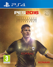 Pro Evolution Soccer PES 2016 (Calcio) Anniversary Edition PS4 Playstation 4