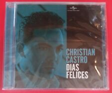 """DIAS FELICES by CHRISTIAN CASTRO (CD, 2005 - USA - Universal) BRAND NEW """"SEALED"""""""