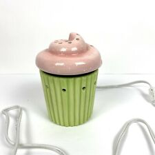 Scentsy Green Pink Cupcake Scent Warmer
