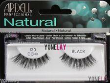ARDELL Natural 120 Demi Black False Eyelashes Fake Eye Lashes Wispies Lash