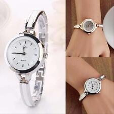 2017 Fashion Women Elegant Ladies Bracelet Stainless Steel Quartz Wrist Watch Jz