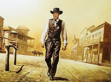 """""""High Noon"""" by Siegfried Hafer 32x24"""" Reprint"""