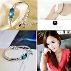 Fashion New Romantic Jewelry Women Crystal Bracelet Vintage 925 Silver Bracelet