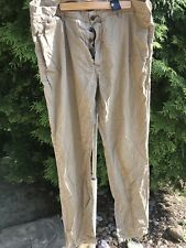H&M LOGG WOMEN  38 TAN Chinos Slim Fit BUTTOM