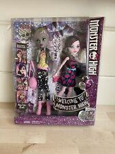 Monster High Monstrous Rivals Lot 2 Pack Draculaura & Moanica D'Kay Dolls Mattel
