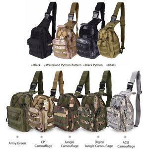 Military Tactical Trekking Shoulder Bag Rucksacks Camping Hiking Backpack Bag