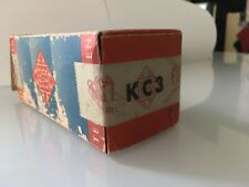 A Telefunken KC3 battery DH triode tube, excellent AD1 driver - NEW, boxed