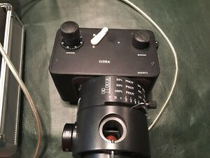 Wild Herrbrugg MPS12 Microscope Cam Attachment and Lenses