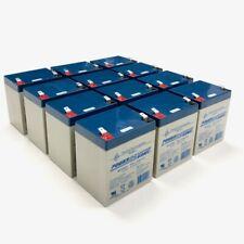 12V 5AH SLA Powersonic battery for APC SMX3000RMLV2UNC UPS - 12 PCS