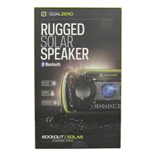 Goal Zero Rock Out 2 Waterproof Portable Bluetooth Speaker w/ Solar Panel Green