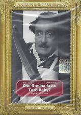 Dvd **TOTO' ~ CHE FINE HA FATTO TOTO' BABY** nuovo Slipcase 1964