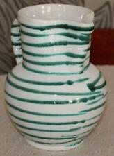 Gmundner Keramik Krug, grün geflammt, neu