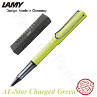 LAMY AL-Star Charged Green Rollerball Pen (M63) Model 352 - 2016 Limited Edition