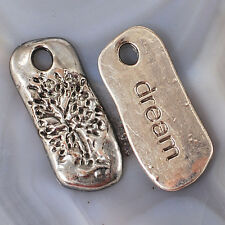 "'Tree of Life dream"" Charms Finding 2pcs,Gold,Silver,Copper,Bronze, pick color"