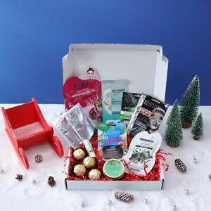 Self Care - Home Spa Christmas Pamper Hamper Gift Box for Her