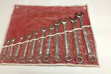 "11 PCS LARGE COMBINATION WRENCH SET SAE FROM 3/8"" TO 1"""