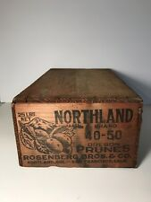 Vintage Wood Fruit Crate Urban Farmhouse Tiny House Northland Brand Oregon